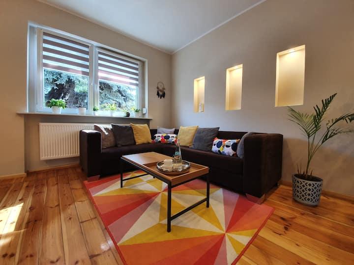 BOHO - apartament w Poznaniu + miejsce parkingowe