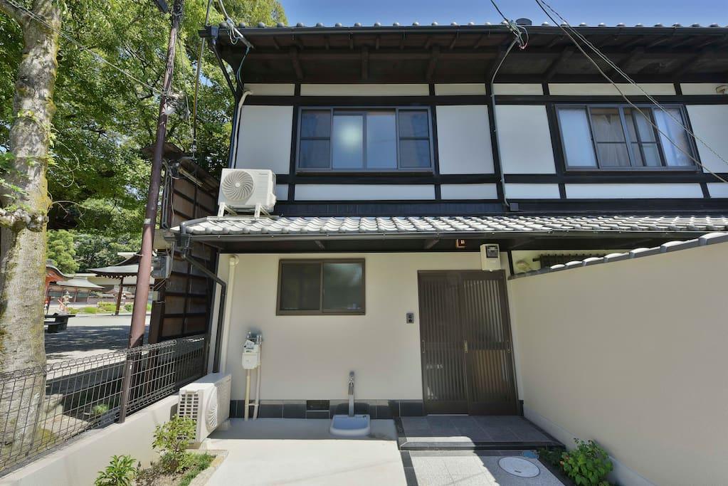 讓我們在寬这个房子裡開始一段京都的生活體驗吧