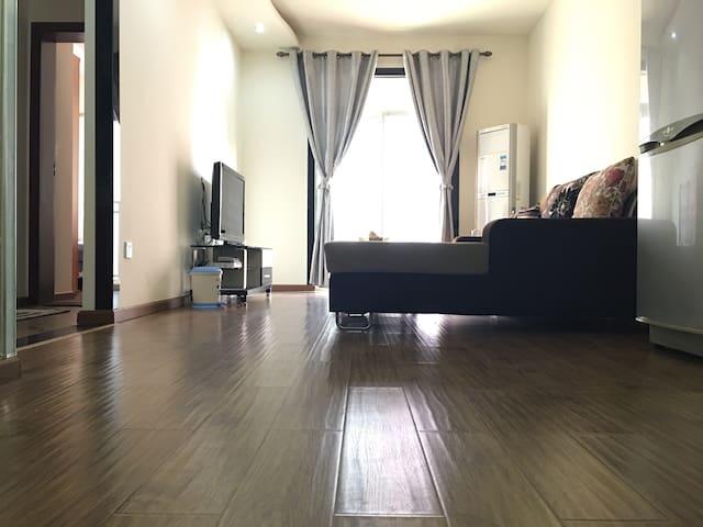 商业繁华区临江全新精装一室两厅公寓 - 泸州市 - Apartamento