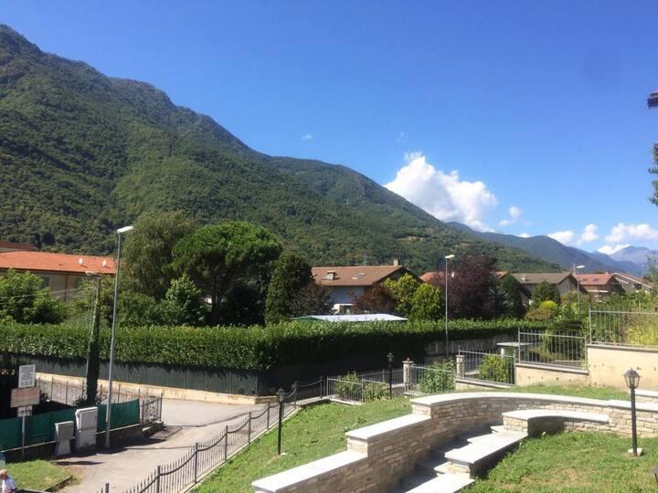 Stanza singola in Villa panoramica