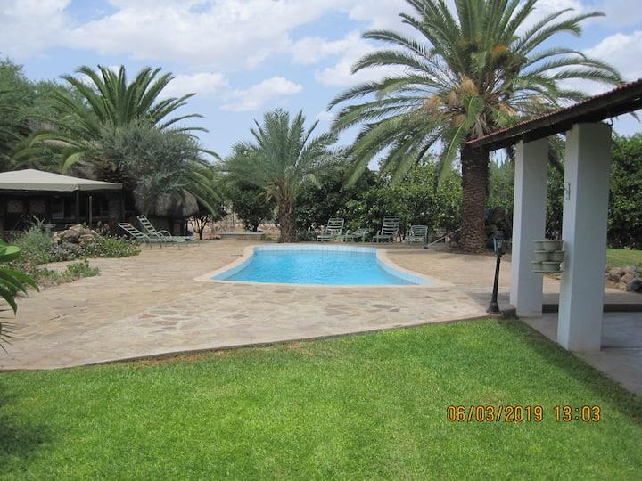 Helmuts house on Farm Ondombo