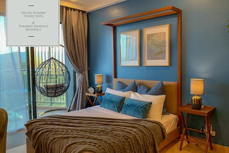 Deluxe Holiday Studio Suite  @ Timurbay w/ Seaview