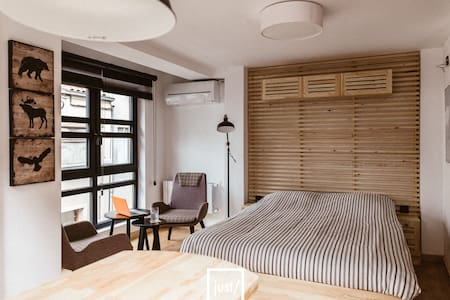 Just Above a Coffee Shop, Cosy, Convenient, Safe - Beşiktaş - Appartement
