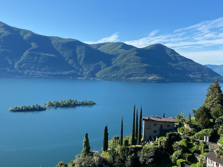 Cà la Rocca - spektakuläre Aussicht / unique view