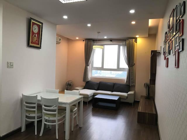 Friendly and private apt for small group or family