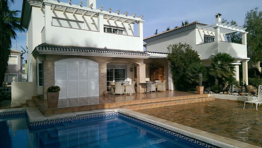 Chalet con Piscina - Golf, Jardin, Playa,... - Murcia - House