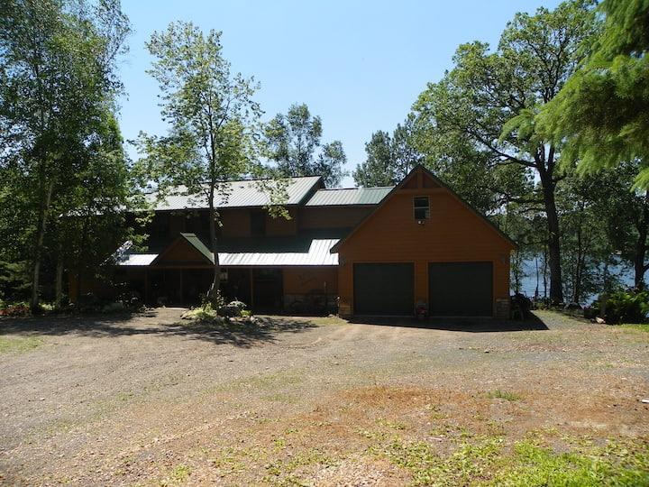 Lakeside Retreat near Osceola, WI