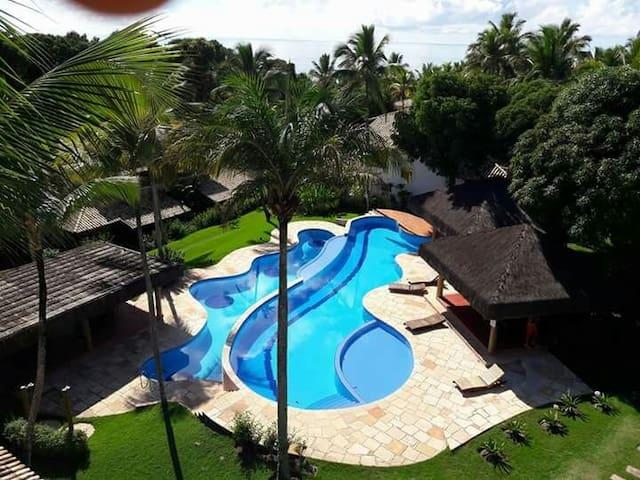 Flat  tropical paraiso vista mar! arraial da ajuda