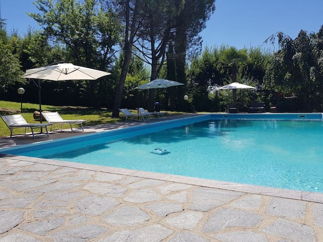Suite Blanche con piscina  Saint Paul Relais ****