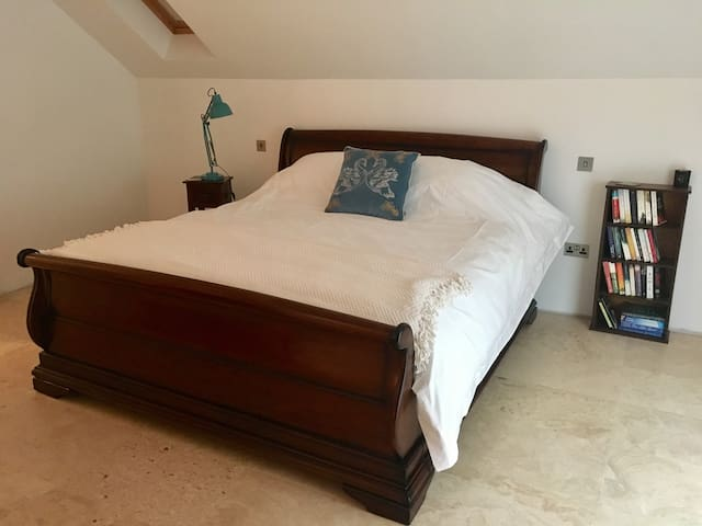 Master Bedroom overlooking Lough Corrib