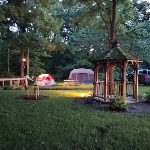Camping at Hones Pointe campground and park