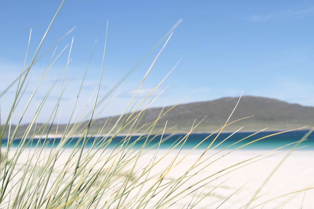 The beach on Harris which is a must see while you are here! You thought it was the Caribbean didn't you?