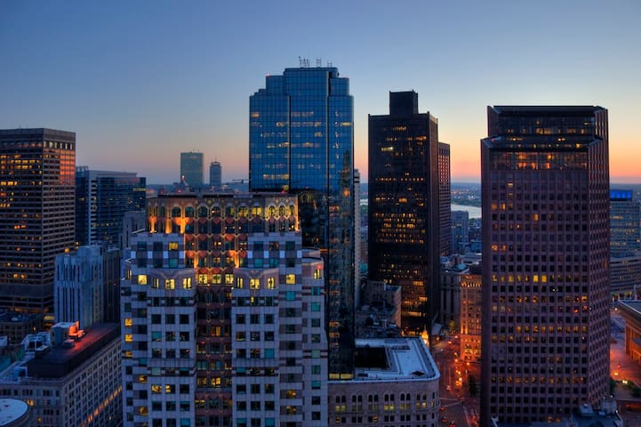 Boston Financial District - Location and charm