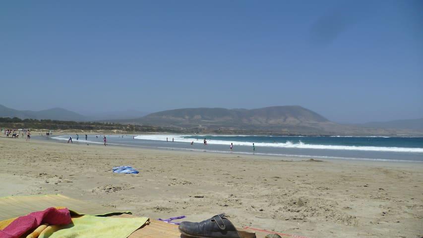 Departamento full Los Molles frente a la playa