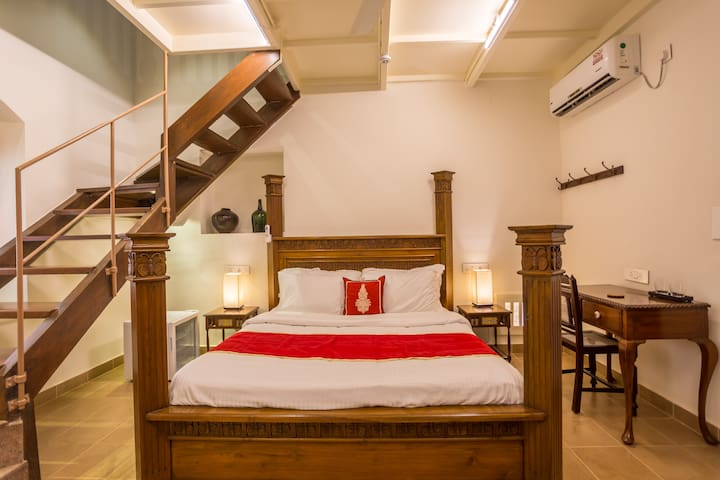 Family Room at Heritage Boutique Near Calangute