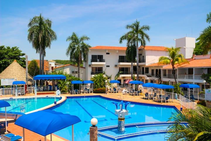 Habitación Privada para 4 Hotel en Melgar