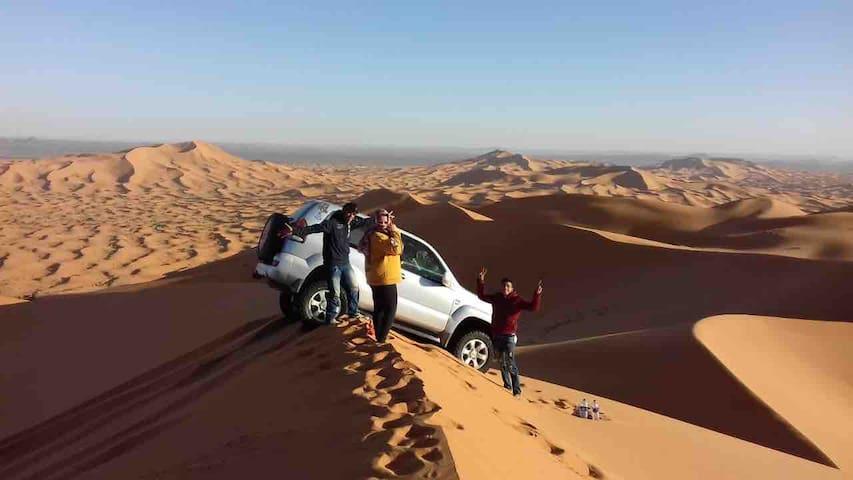 Viajes al desierto de merzouga