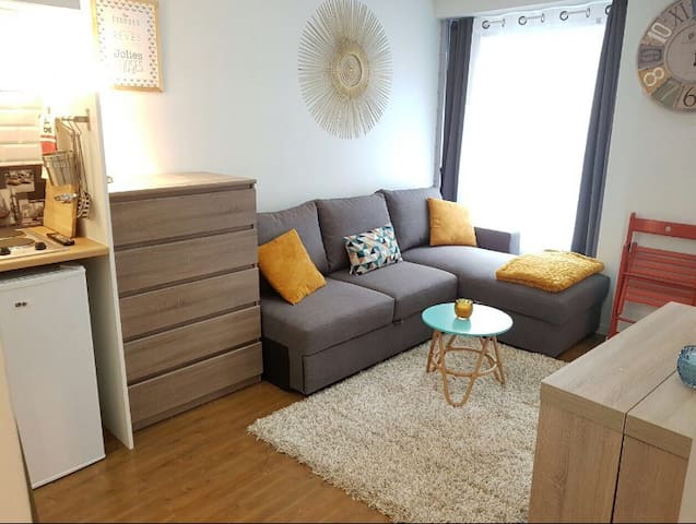 New cozy apartment for 4 people in the center of Paris