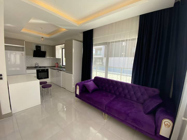 Belek 2+1 Luxury, Comfortable and New Apartment