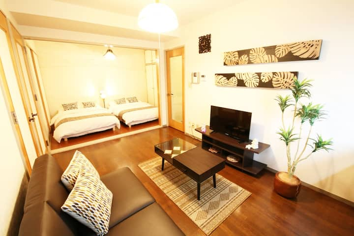 GT02 Atami Resort:4 BR Studio w/6beds + Fireworks
