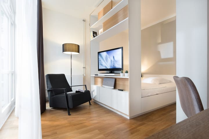 Serviced Apartment- Studio in Hamburg