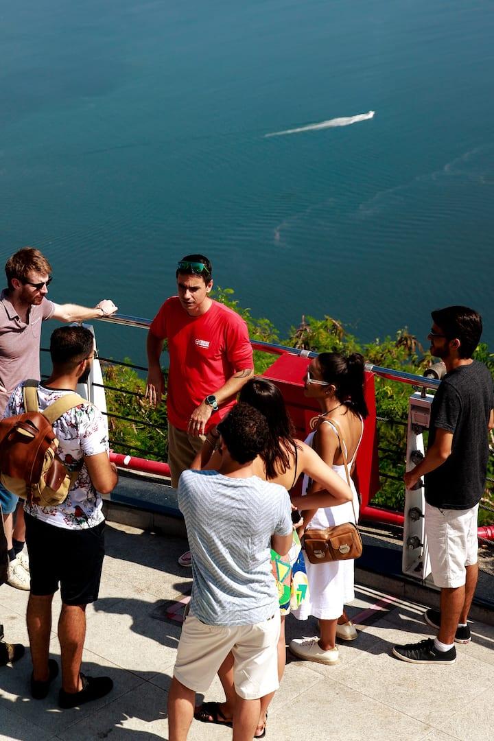 Guanabara Bay View From Sugarloaf Top