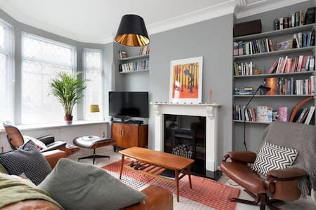Characterful victorian house, close to city centre - Nottingham