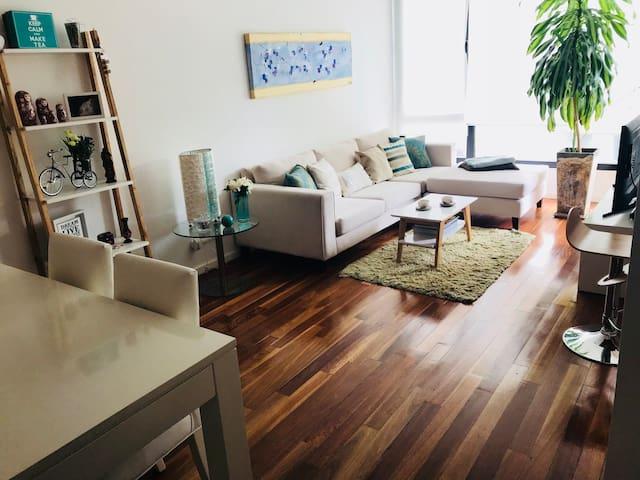 Hermoso y confortable departamento en San Isidro