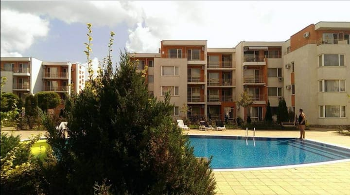 Sunny Beach top floor large apartment refurb 2019