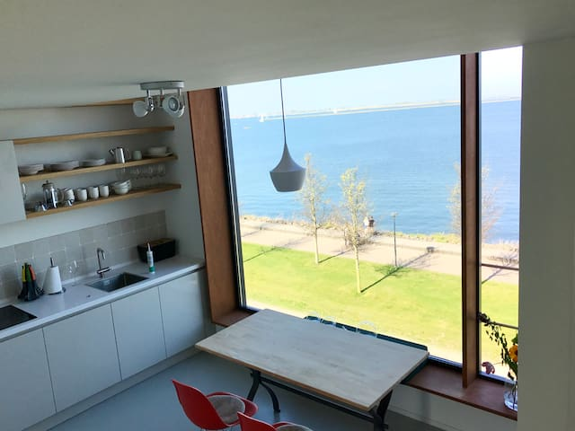 High-end designed B&B with magnificent seaview - Amsterdam - Bed & Breakfast
