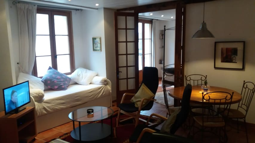 Bijou apartment off village square - Auberre-sur-Dronne - Apartment