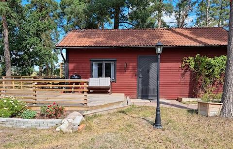 Accogliente cottage su piccola fattoria di cavalli, a 5 minuti da E4