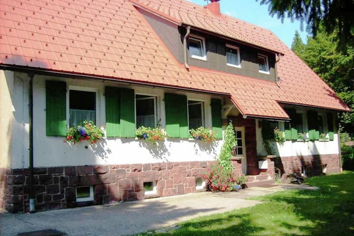 Large holiday home in a quiet and sunny location in the Thuringian Forest