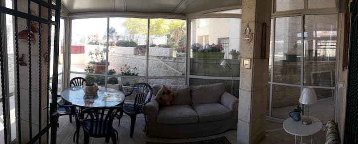 Beautiful and Bright 3BR Garden Apartment