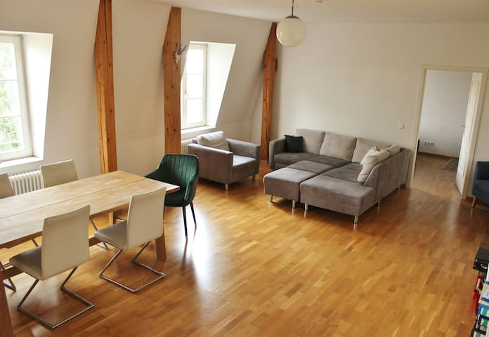 Beautiful Apt near castle, subway, olympic stadium