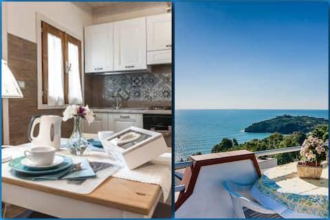 ⭐Charming sea view Cottage terrace solarium