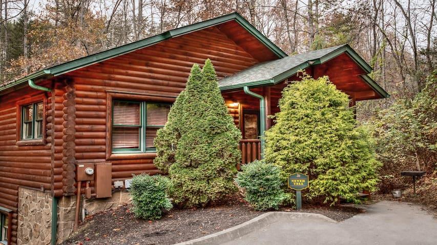Gatlinburg Falls Resort 2 Story Cabin w/ 1 bedroom