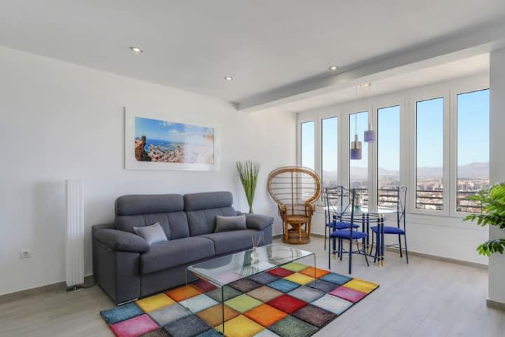 AMAZING view of Alicante!, 28 floor, balcony, WiFi