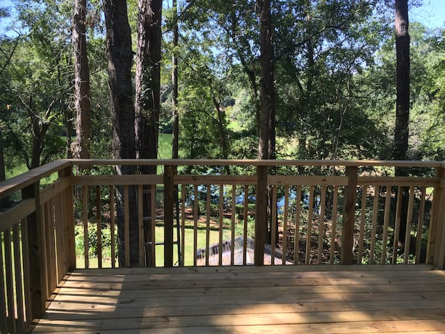 Bright, large apartment with lake view near FSU - Tallahassee - Apartamento