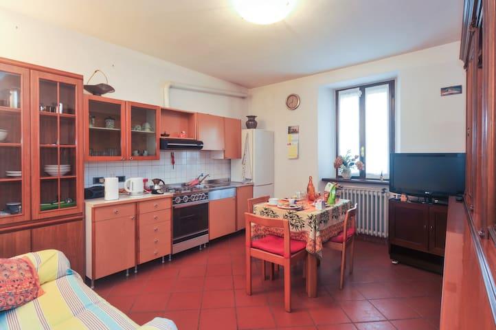 Countryside semi autonomous flat - Pontenure - House