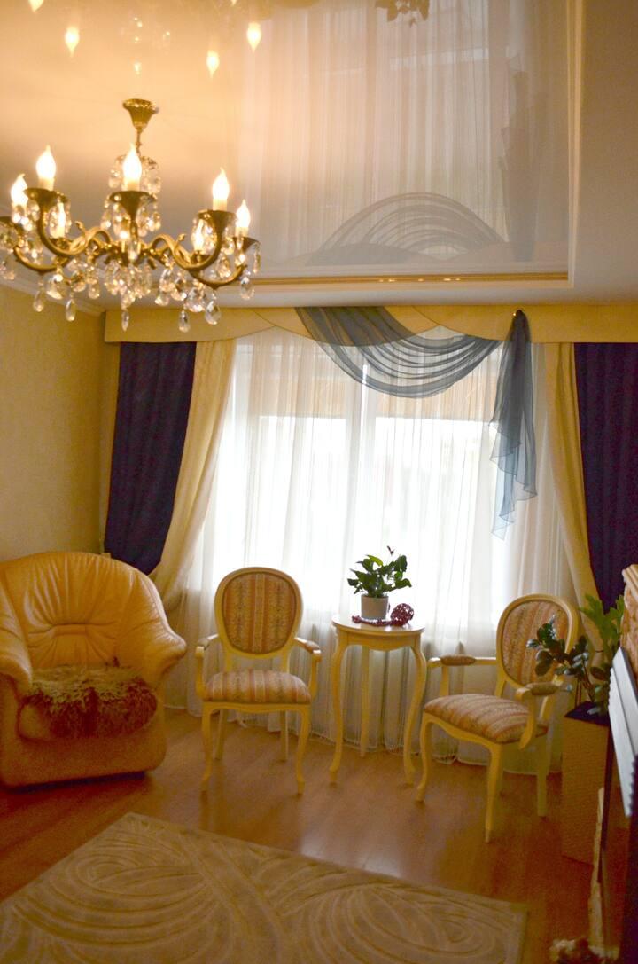 3 к-я квартира в центре города-спутника Смолевичи.