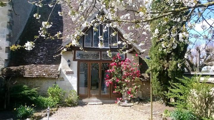 Maison pittoresque en campagne