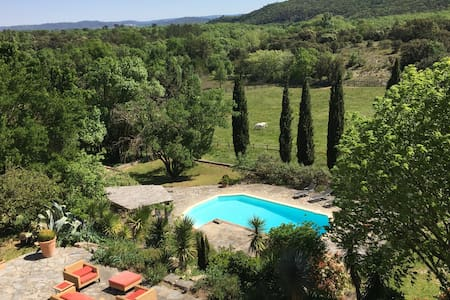 Luxurious property with pool beautifully situated - Brouzet-lès-Quissac - 独立屋