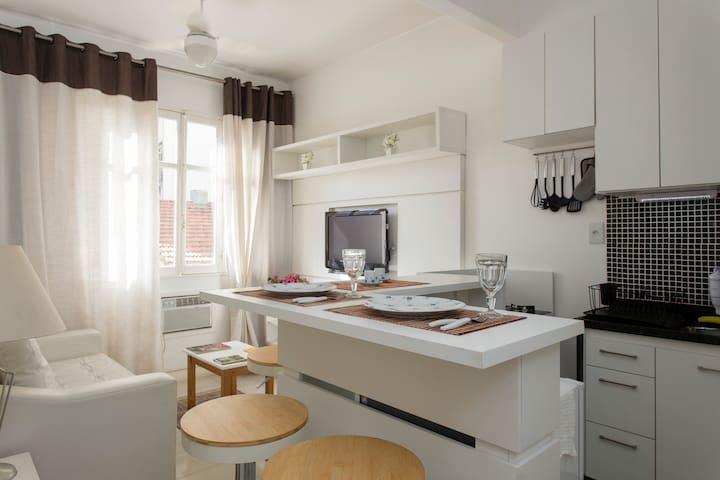 Cozy and pratical apartment near Lapa and Downtown - Рио-де-Жанейро - Квартира