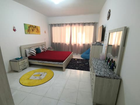One Bedroom Apartment with Living near AD Mall