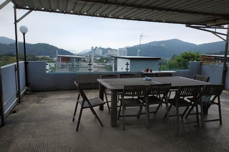 Mui Wo: Private room in shared apartment+roof top