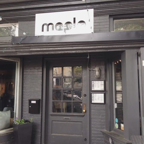 Maple is a good contemporary restaurant