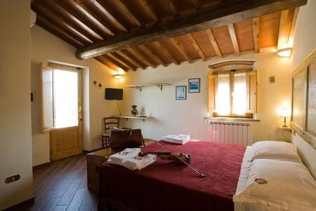 Camera matrimoniale con vista giardino - Quarrata - Wikt i opierunek