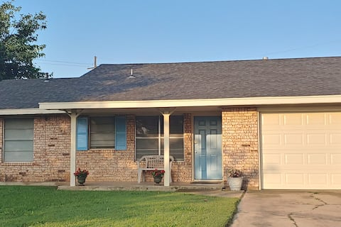 Home away from home close to Fort Sill.