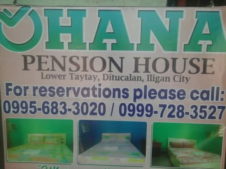 "Ohana Pension House ,""Where your lifestory begins"""